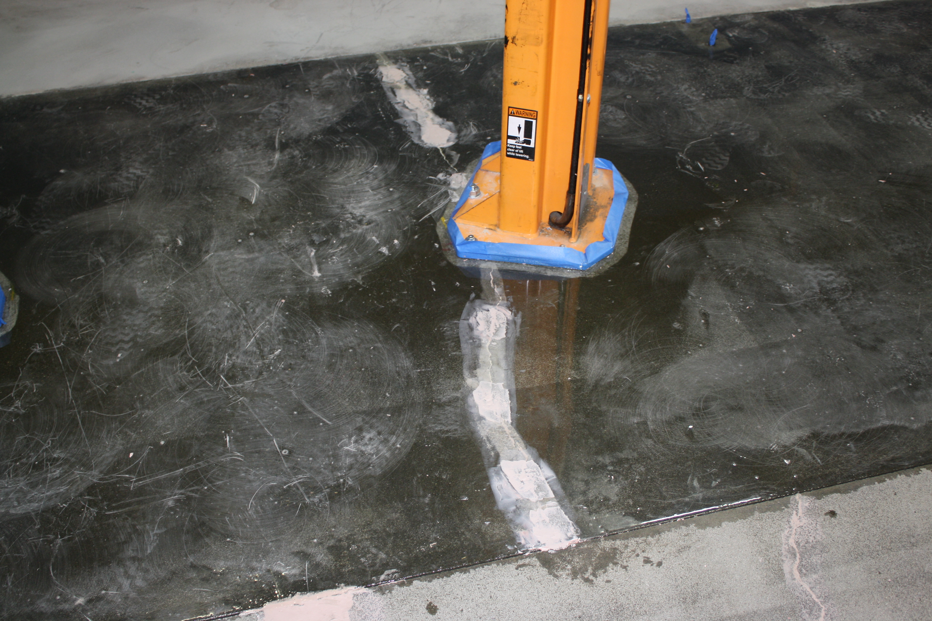 Concrete Floor Crack Repair