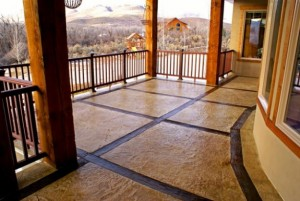 decorative concrete overlays