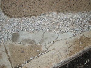 How to repair spalling concrete by fixing broken and cracked concrete surfaces