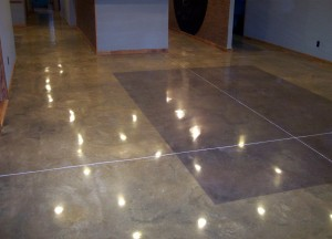 Polished concrete and floor care