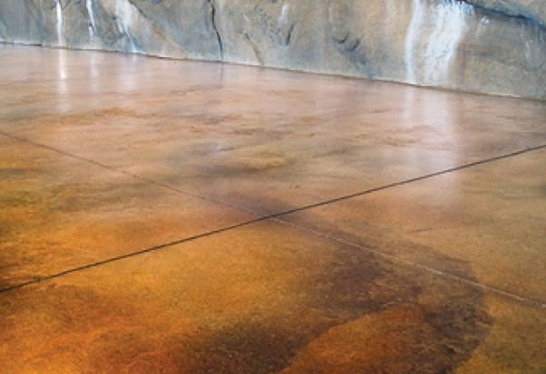 Concrete Acid Etching